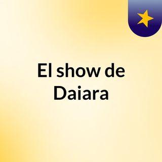 El show de Daiara