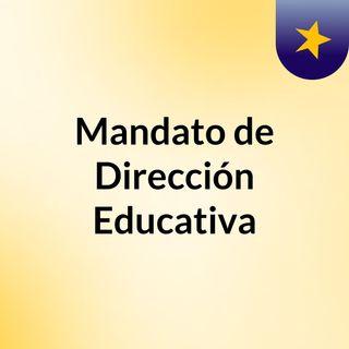 Mandato de Dirección INTEF