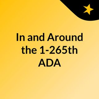 In and Around the 1-265th ADA