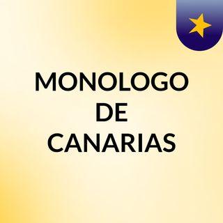 Monólogo de Canarias