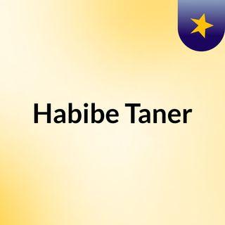 Habibe Taner-Yeryüzü Aşkın Yüzü Oluncaya Dek-Adnan Yücel
