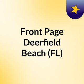 Front Page Deerfield Beach (FL)