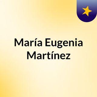 María Eugenia Martínez