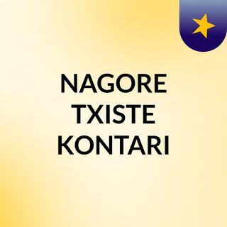 NAGORE TXISTE KONTARI