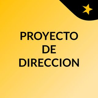 Speech proyecto de direción