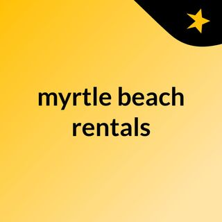 Planning to Stay at Myrtle Beach