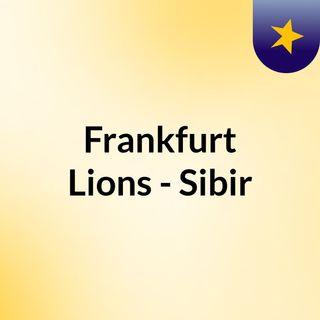 Frankfurt Lions - Sibir