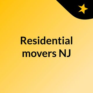 Best moving services by residential movers NJ