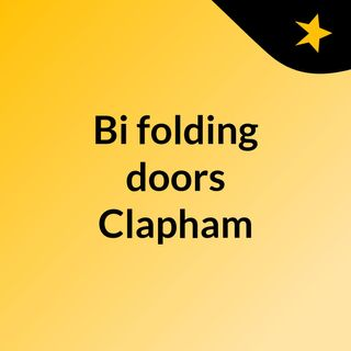 Bi folding doors Clapham folk will love - click here