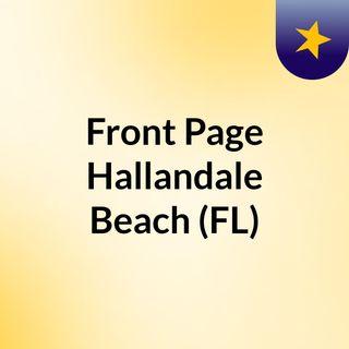 Front Page Hallandale Beach (FL)