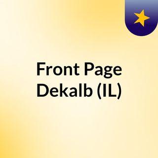 Front Page Dekalb (IL)