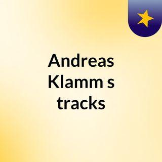Andreas Klamm's tracks
