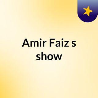 Amir Faiz's show