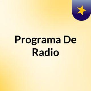 Taller De Radio Programa