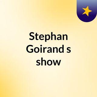 Stephan Goirand's show