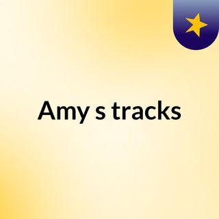 Amy's tracks