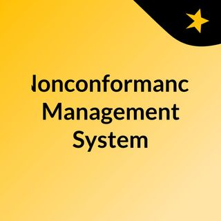 Nonconformance Management in Pharmaceutical Industry