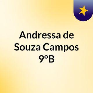 Andressa de Souza Campos 9°B