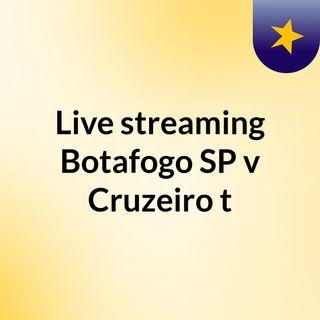 Live streaming Botafogo SP v Cruzeiro t