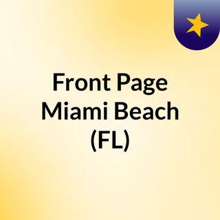 Front Page Miami Beach (FL)