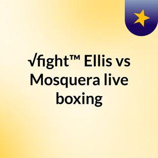 √fight™ Ellis vs Mosquera live boxing