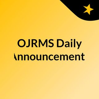 OJRMS Daily Announcements