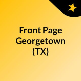 Front Page Georgetown (TX)