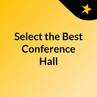 Select the Best Conference Hall in Bhubaneswar