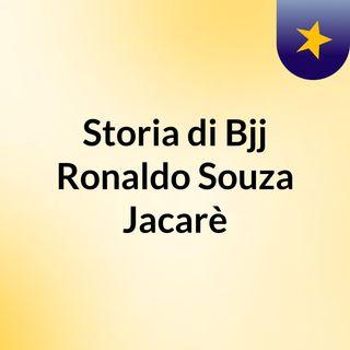 Soria di Ronaldo Souza Jacarè campione di Bjj