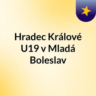Hradec Králové U19 v Mladá Boleslav