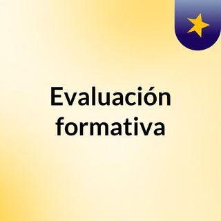 Evaluación formativa definición y aplicación