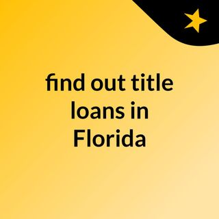 Quality service from the best car title loan service