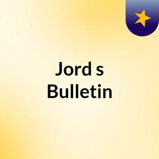 Jord's Bulletin