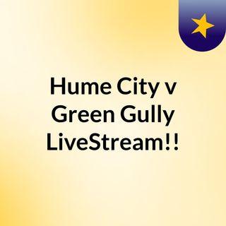 Hume City v Green Gully LiveStream!!