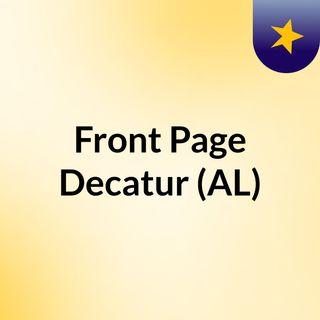 Front Page Decatur (AL)