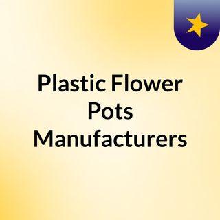 Plastic Flower Pots Manufacturers