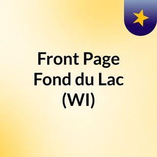 Front Page Fond du Lac (WI)