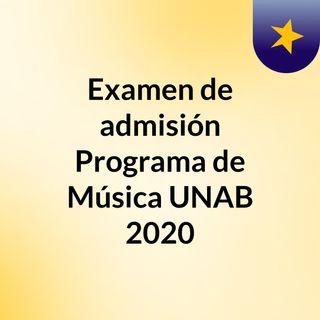 Examen UNAB 2017 Punto 01 Timbres