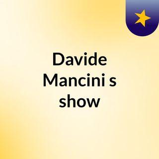 Davide Mancini's show