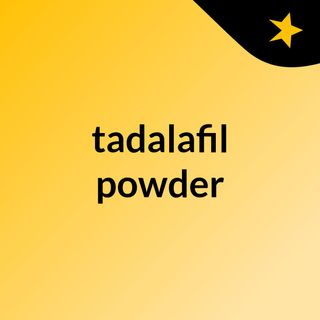 Take tadalafil for the best results