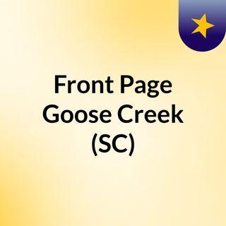 Front Page Goose Creek (SC)