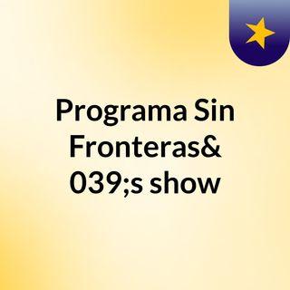 Programa domingo 23 de abril de 2017