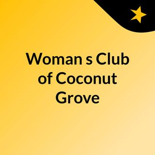 womans club of coconut grove