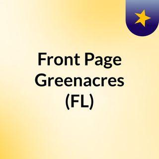 Front Page Greenacres (FL)