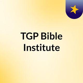 TGP Bible Institute