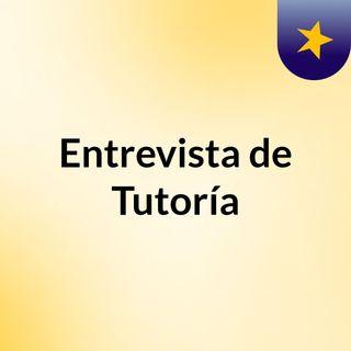 Entrevista de tutoria