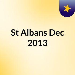 St Albans Dec 2013