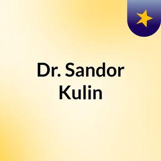 Dr. Sandor Kulin
