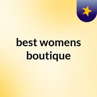 best womens boutique