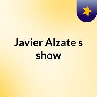 Javier Alzate's show